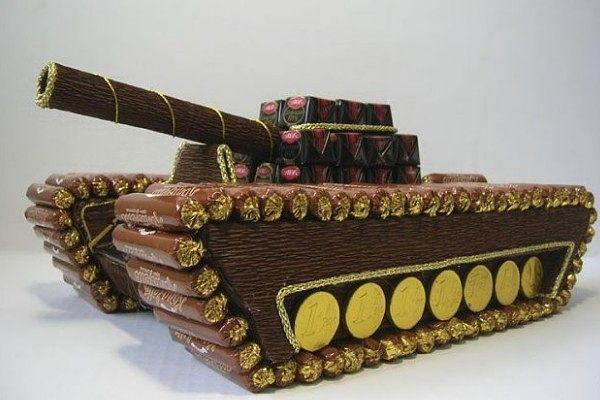 С днём танкиста подарок 126