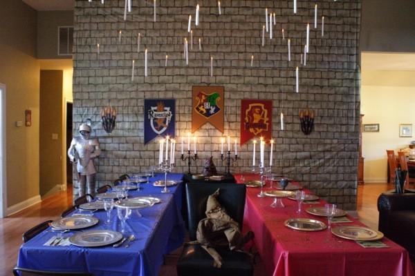 декорации к празднику в стиле волшебники