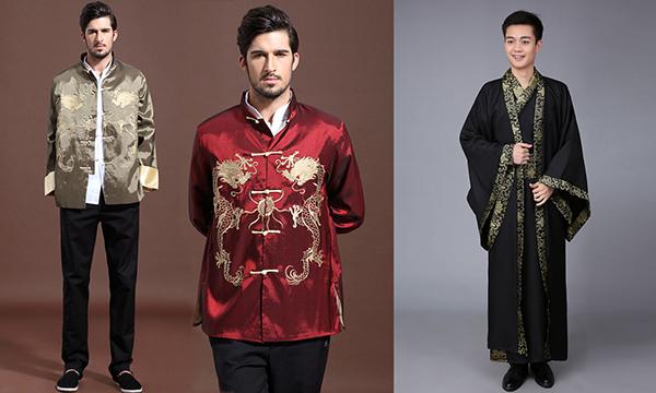 китайская одежда из шелка