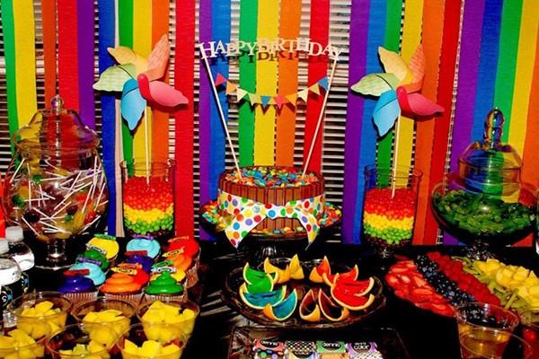Ideas for a Rainbow Party - Hey Donna