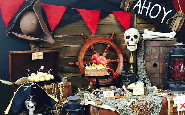 День рождения в стиле пиратов
